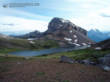 Ptarmigan Peank and Lake