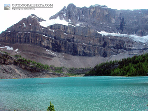 Myosotis Lake (lower Skoki Lake) Banff National Parkl